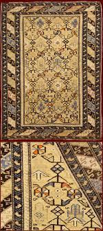 tappeti antichi caucasici antique kuba chi chi cm 140 x 103 ft 4 6 x 3 4 for ue