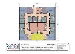 medical floorplans ramtech modular