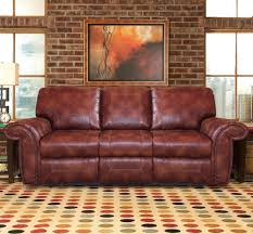 fresh burgundy bonded leather sofa 16965