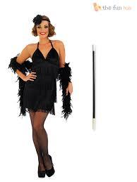 1920 Flapper Halloween Costumes Ladies 1920s Flapper Costume Holder Gloves Womens 20 U0027s