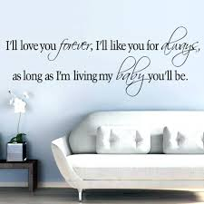 Nursery Sayings Wall Decals Wall Decals With Sayings Wall Decor Sayings Wall Decor Family