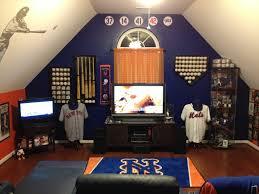 Baseball Bedroom Set Mets Man Cave Http Www Mancavegenius Org Attic Man Cave