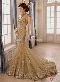 gold wedding dresses gold mermaid wedding dresses naf dresses