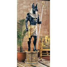 egyptian jackal god of the dead u0026 embalming anubis life size