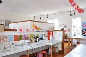Craft And Sewing Room Ideas - dazzling sewing room ideas eclectic home office