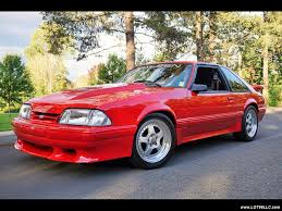 1990 ford mustang 1990 ford mustang saleen 1 of 2 made for sale in milwaukie
