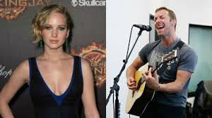chris martin and jennifer lawrence j law loves coldplay and other cases of fandom turned love