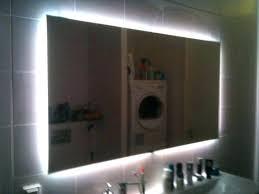 Illuminated Bathroom Wall Mirror New Backlit Bathroom Mirror For Led Lighted Bathroom Mirror Wall