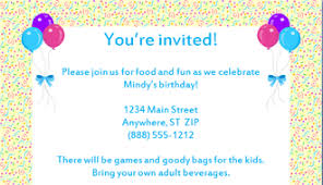 birthday party invitations templates u2013 gangcraft net