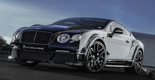 custom bentley 4 door 2015 bentley w12 gtx edition onyx concept
