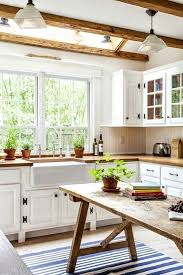 farmhouse kitchen a rustic dining table is one of those things that always catch lots of
