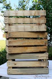 Build A Toy Box From Pallets by Craftaholics Anonymous Diy Toy Box With Herringbone Design
