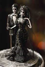 skeleton wedding cake topper cake toppers for your wedding tastes offbeat