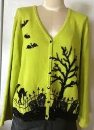 ugly halloween sweater vest cheap jumper by abettersweatershop
