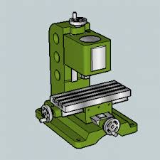 3d milling machine milling free 3d models free3d