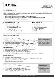 reverse chronological resume template hybrid resume format resume