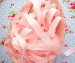 seam binding ribbon pink vintage style seam binding ribbon