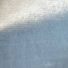 Upholstery Denim Light Blue Velvet Designer Upholstery Fabric Shimmer