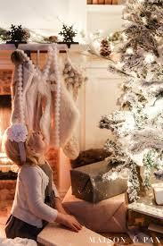 christmas lights at night holiday home tour maison de pax