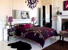Decorating With Plum And Bedside Archaiccomely Purple Decorating Ideas Bedroom Plum