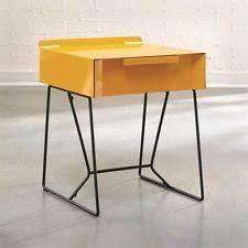 Nightstand Bookshelf Modern Nightstand Bed Side End Table Metal Chair Furniture Book