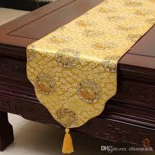 luxury damask table runner chinese ethnic style table runners classical rustic luxury damask