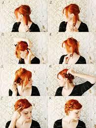 Frisuren Anleitung Damen by Rockabilly Retro Frisur Anleitung Retro Pin Up Curls Up