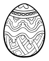 pictures easter bunnies eggs color images free coloring