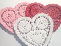 heart shaped doilies 47 best do it with paper doilies images on paper