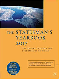 world book yearbook buy the statesman s yearbook 2017 the politics cultures and