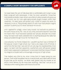 resume for student teachers exles of autobiographies best photos of write short autobiography short professional bio