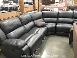 Sectional Sofa With Chaise Costco Furniture Costco Leather Sectional Reclining Sectional With