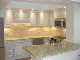 Picasso Travertine Tile Kitchen Backsplash Floor Decor Client - Sealing travertine backsplash