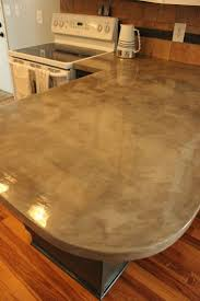 159 best countertops and backsplashes images on pinterest diy concrete kitchen countertops a step by step tutorial