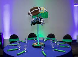 Football Centerpieces Football Centerpiece Light Up Uplights Sports Themed Bar