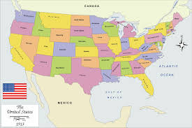 usa states and capitals map map maps of within united america