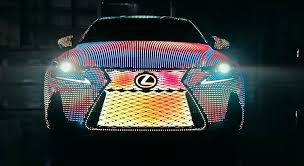 sriracha lexus meet the 2017 lexus lit is and all of its 41 999 leds