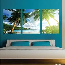 palm tree wall mural decal palm tree wall art decals large zoom