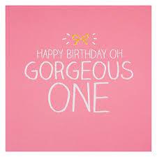 buy happy jackson gorgeous one birthday card john lewis