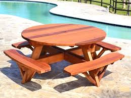 round picnic tables for sale pdf free picnic table plans round plans free design of round picnic
