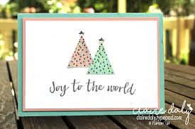 christmas cards and projects stampin u0027 up australia claire daly