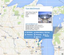 Beloit Wisconsin Map by How To Use The Route Optimization Directions Tool Maptive
