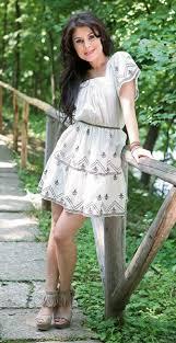 rochie etno etno rochie din bumbac koton 159 bratari din margele