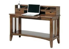 Cherry Secretary Desk by Cherryview Tech Sofa Table Secretary Desk In Warm Cherry Finish By
