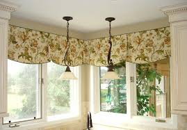 contemporary window valances corner kitchen luxurious