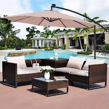 outdoor table ls battery operated patio umbrellas shades for less overstock com