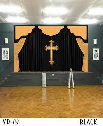 Curtains Decorations Curtains Decorations Sanctuary Altar For Sale