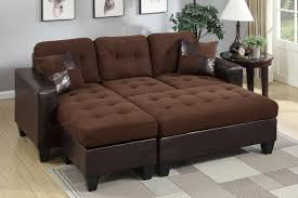 Sectional With Ottoman Brown Leather Sectional Sofa And Ottoman A Sofa Furniture