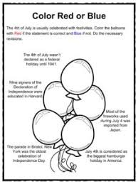 fourth of july 4th july facts worksheets u0026 history for kids