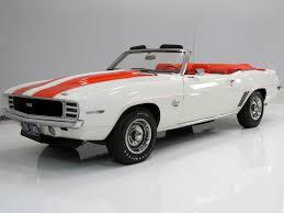 69 camaro pace car harwood motors 1969 chevrolet camaro indy 500 pace car sold